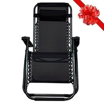 Zero Gravity Chair Folding Lounge Recliner Outd... - $43.53