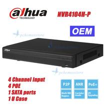 Dahua NVR4104HS-P-4KS2 4Ch Compact 1U 4PoE 4K&H.265 Lite Network Video R... - $158.40