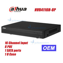 Dahua OEM NVR4116H-8P NVR 16 Channel Smart Mini 1U 8 POE Network Video R... - $243.10
