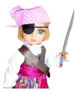"Halloween Patsy Pirate Tonner 10"" Doll Bend Wrist Pink Peppermint Costum... - $129.95"