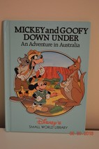 Disney's Small World Library - Mickey and Goofy Down Under -Australia - $2.50
