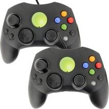 New Lot of 2 Black Controller Control Pad for Original Microsoft XBOX X ... - $18.90