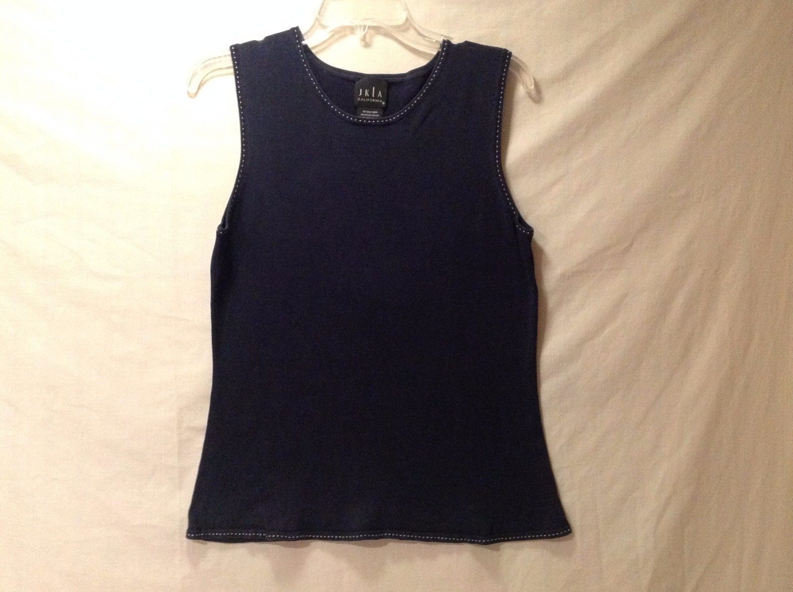 Great Condition JKLA California Sleeveless Navy Blue Size L Tank Top Women's