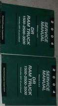 2004 Dodge RAM Truck 1500 2500 3500 Service Shop Reparatur Manual Set Di... - $395.99
