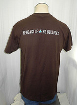Newcastle Brown Ale No Bollocks - Reminder Brown T-Shirt-Men's L - $9.45