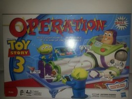 HASBRO DISNEY PIXAR TOY STORY 3 OPERATION GAME-CLEAN-TESTED-WORKS - $14.92