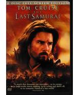 Freebie!  The Last Samurai (DVD, 2004, 2-Disc Set, Full-Screen Version) - $0.00