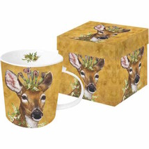 Paper Products Design Woodland Gift Boxed Mug - $13.10
