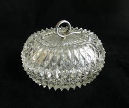 Vintage Indiana Glass Diamond Point Pressed Gla... - $24.26