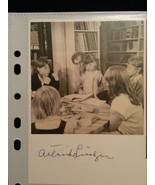 Astrid Lindgren Hand-Signed Autograph