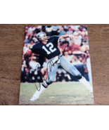 ROGER STAUBACH HOF QB DALLAS COWBOYS SIGNED AUTO COLOR 8X10 PHOTO COA - $39.99