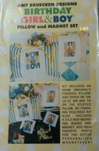 CLEARANCE Birthday Boy Pillow & Magnet Set LIMI... - $20.00