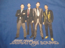 Ernie Haase And Signature Sound Gospel Quartet Dream Concert Tour T Shirt Size L - $16.34