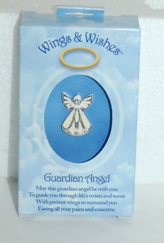 DM Merchandisings Wings Wishes Guardian Angel Product Number WGW-GAURD