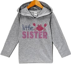 Custom Party Shop Baby Girl's Little Sister Summer Hoodie Pullover 24 Months ... - $22.05
