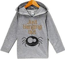 Custom Party Shop Baby Spider Halloween Hoodie 6 Months Grey - $22.05