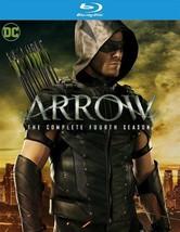 (Used) Arrow: The Complete Fourth Season 4 Blu-ray 4-Disc Set - $17.99