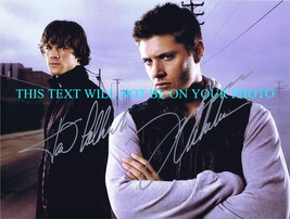SUPERNATURAL CAST JARED PADALECKI AND JENSEN ACKLES AUTOGRAPHED 8x10 RP ... - $13.99