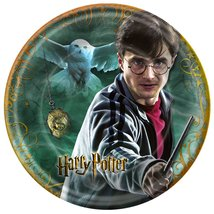 Harry Potter Deathly Hallows 7inch Dessert Plates - 8 Count - $22.72