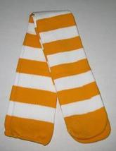 CLOWN OR SPORTS SOCKS OVER THE KNEE YELLOW OR GOLD & WHITE - $10.00