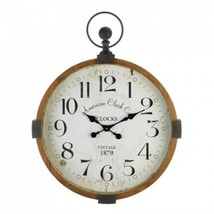 Vintage Industrial Wall Clock - $125.99