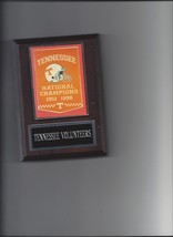 Tennessee Volunteers Champs Plaque Champions Banner Football Ncaa - $3.95