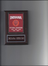 Indiana Hoosiers Champs Plaque Champions Banner Basketball Ncaa - $3.95