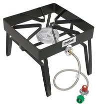 Single Burner Patio Stove Cooking For RV Camping Outdoor Gas Propane 55000 BTU - $59.40