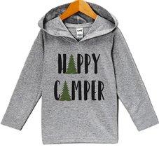 Custom Party Shop Kids Happy Camper Outdoors Hoodie 6 Months - $22.05