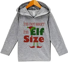 Custom Party Shop Baby's Funny Elf Size Christmas Hoodie 2T - $22.05