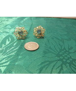 Screw On Vintage Filigree Earrings - $5.50