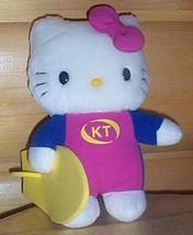 "Hello Kitty Sanrio Plush 8"" Ready for Adventure Holding Her Surf Board - $6.29"