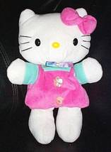 "Hello Kitty Sanrio Plush in Pink & Blue 10"" Small Hands Puppet - $5.49"