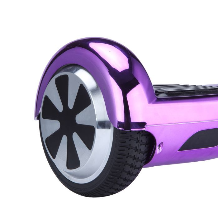 2016 Chrome Purple Hoverboard Two Wheel Balance Scooter Free Fast Shipping