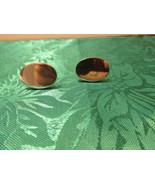 Vintage Silver Tone Oval Cufflinks - $4.99