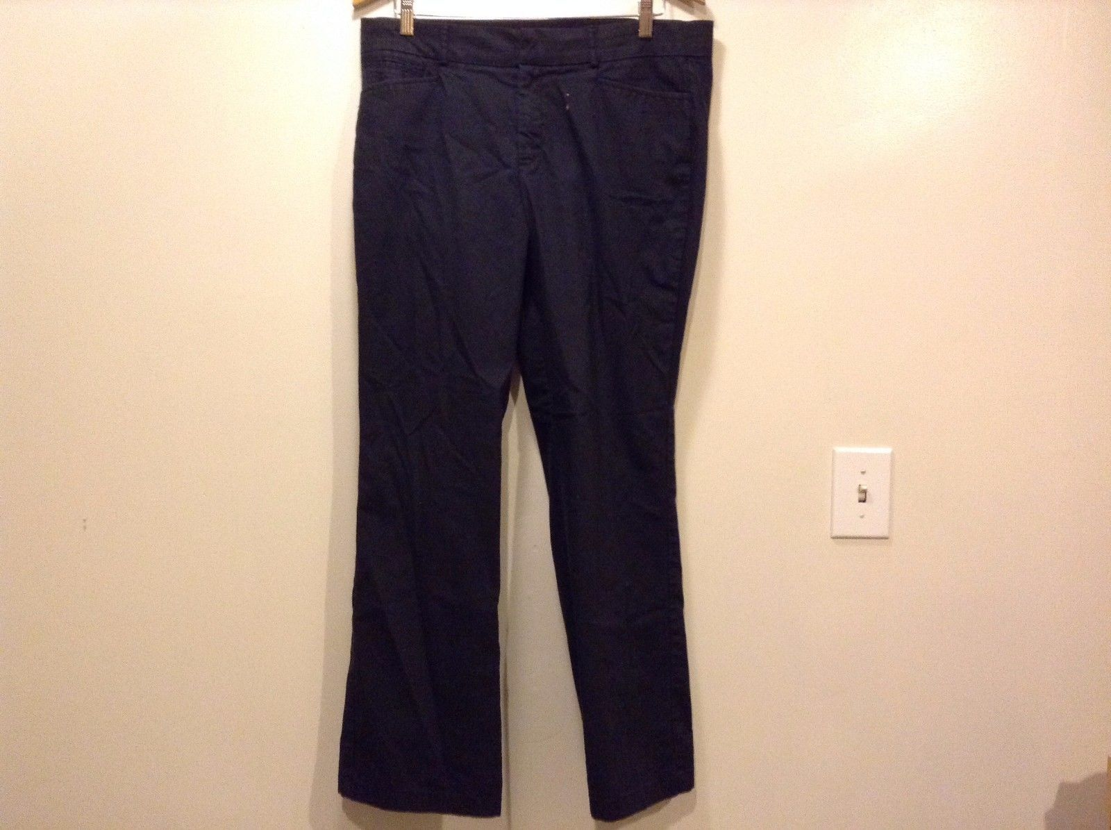Good Condition Dockers Pants Medium Size 14 Cotton Blend Button Clip Zipper