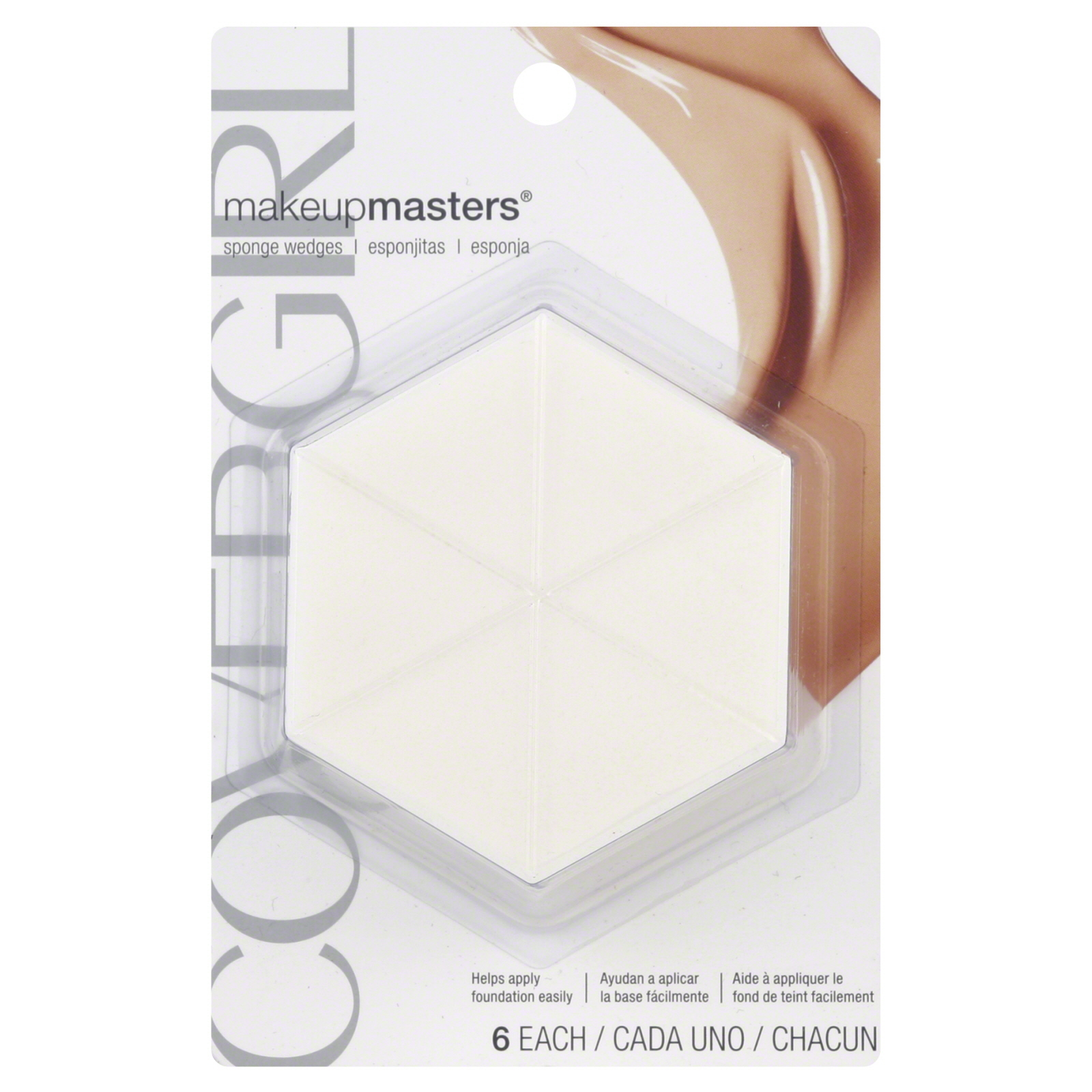COVERGIRL Makeup Masters Sponge Wedges, 6 ct - Puffs, Sponges u0026 Wedges
