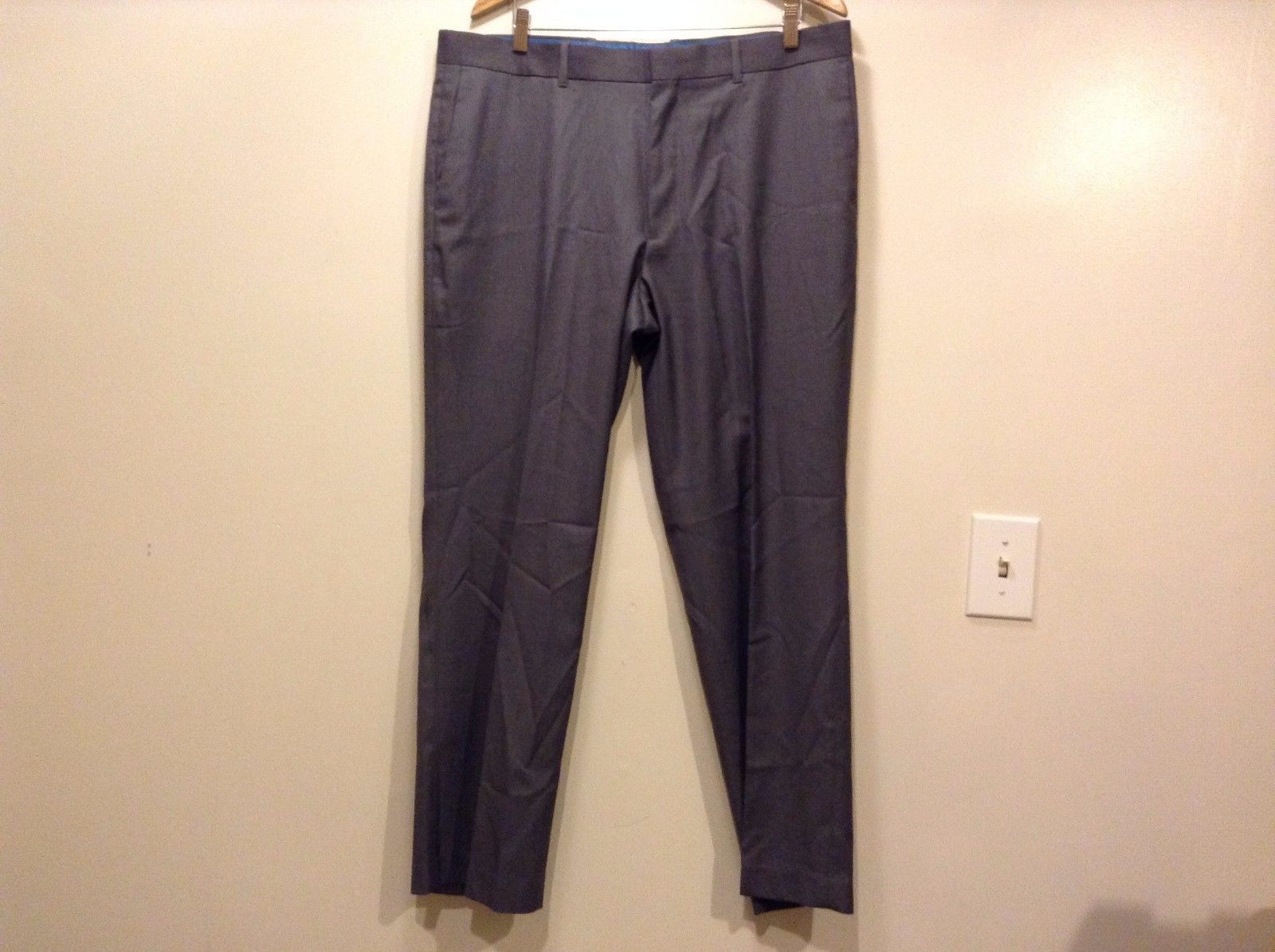 Great Condition Axist Polyester Blend Gray Zipper Clip Pants