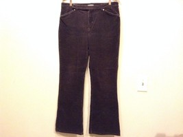 Good Condition Jones New York Sport Size 12 Cotton Blend Brown Corduroy Pants
