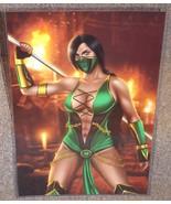 Mortal Kombat Jade Glossy Art Print 11 x 17 In Hard Plastic Sleeve - $24.99