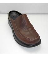 Dansko Brown Leather Patchwork Moccasin Toe Slip On Loafers - Women's Mu... - $29.40