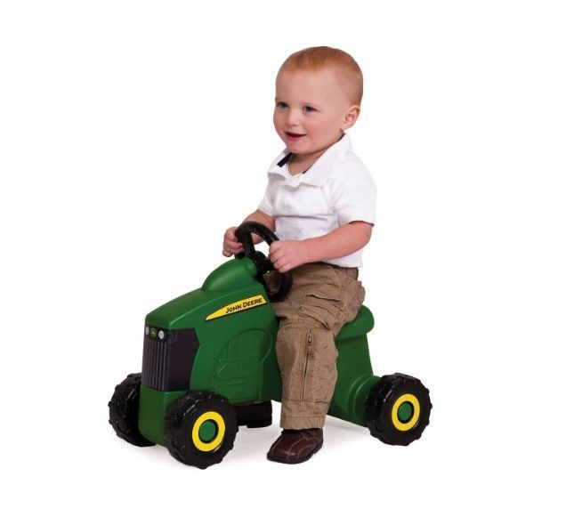 Tractor Toys For Boys : Ride on toys kids tractor scoot toddler push outdoor play