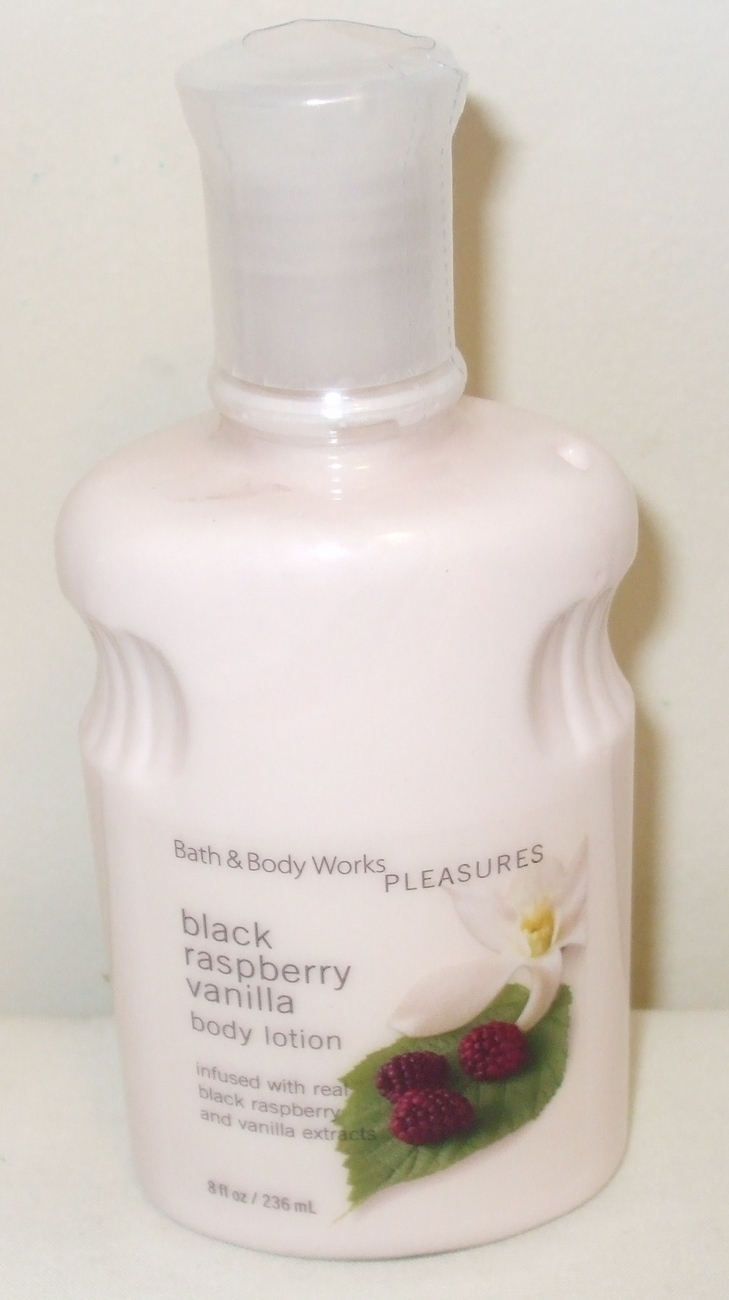 Primary image for Bath and Body Works New Black Raspberry Vanilla Body Lotion