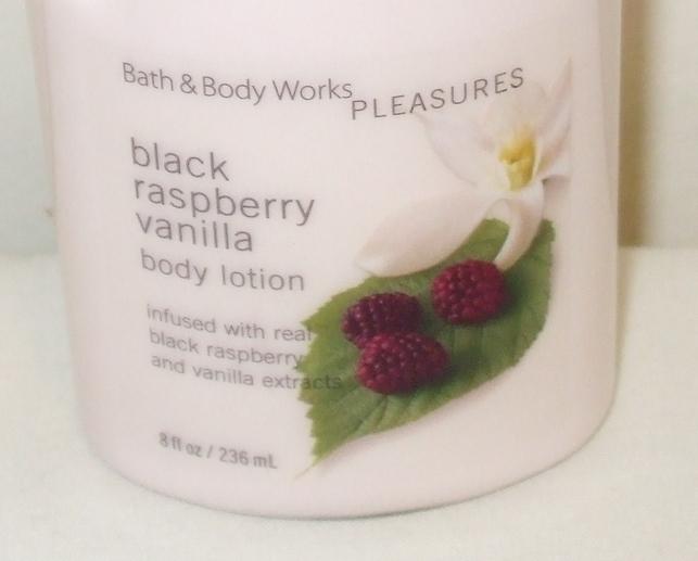 Bath and Body Works New Black Raspberry Vanilla Body Lotion