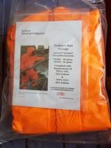 NEW DUPONT TP198T Tychem Hooded ThermoPro, Orange, XL X-large - $74.99