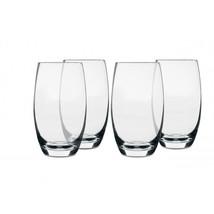 Isaac Mizrahi Western Isle 4-Piece 26oz Glass Tumbler - $251.92