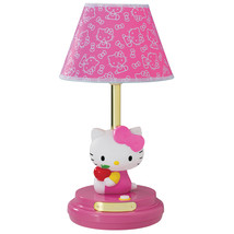 Hello Kitty Table Lamp- Pink - $63.11