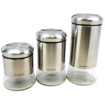 Mr. Coffee Canister Set Ensemble by Cocaux - $230.91