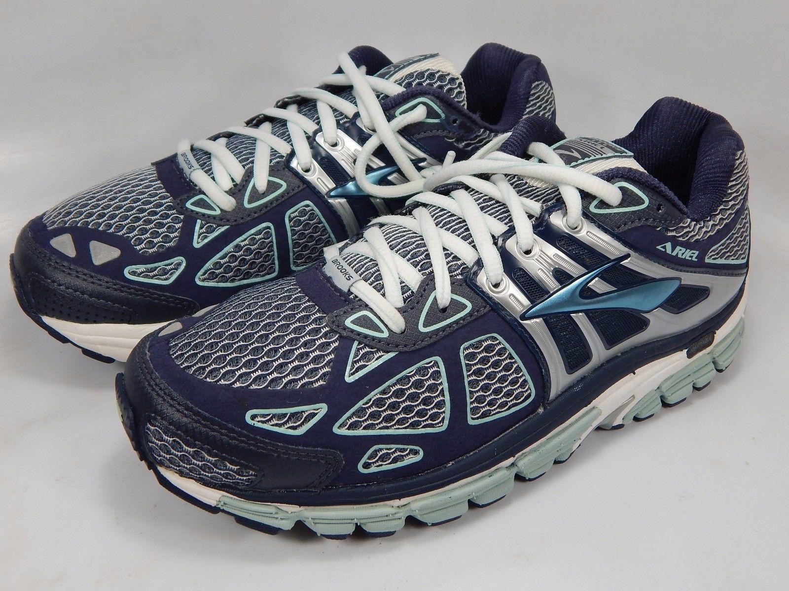 Brooks Ariel 14 Women's Running Shoe Size US 8.5 M (B) EU 40 Blue  1201641B399