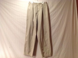 Great Condition Cabin Creek Cotton Blend Size 10 Elastic Waist Khaki Pants